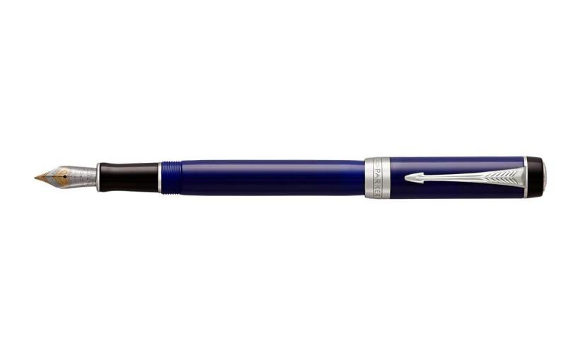 Pióro Wieczne International (F) Duofold Blue & Black Ct