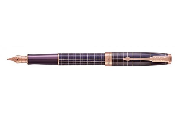 Pióro Wieczne Parker Sonnet M Premium Chiselled Purple Pgt