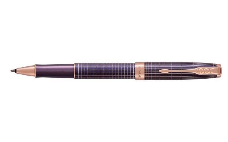 Pióro Kulkowe Parker Sonnet Premium Chiselled Purple Pgt