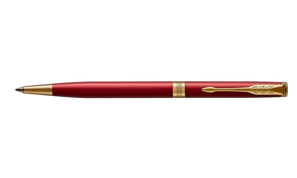 Długopis Slim Parker Sonnet Red Lacquer Gt