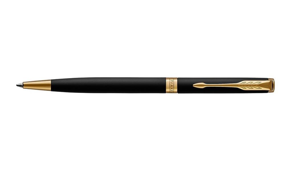 Długopis Slim Parker Sonnet Matte Black Gt