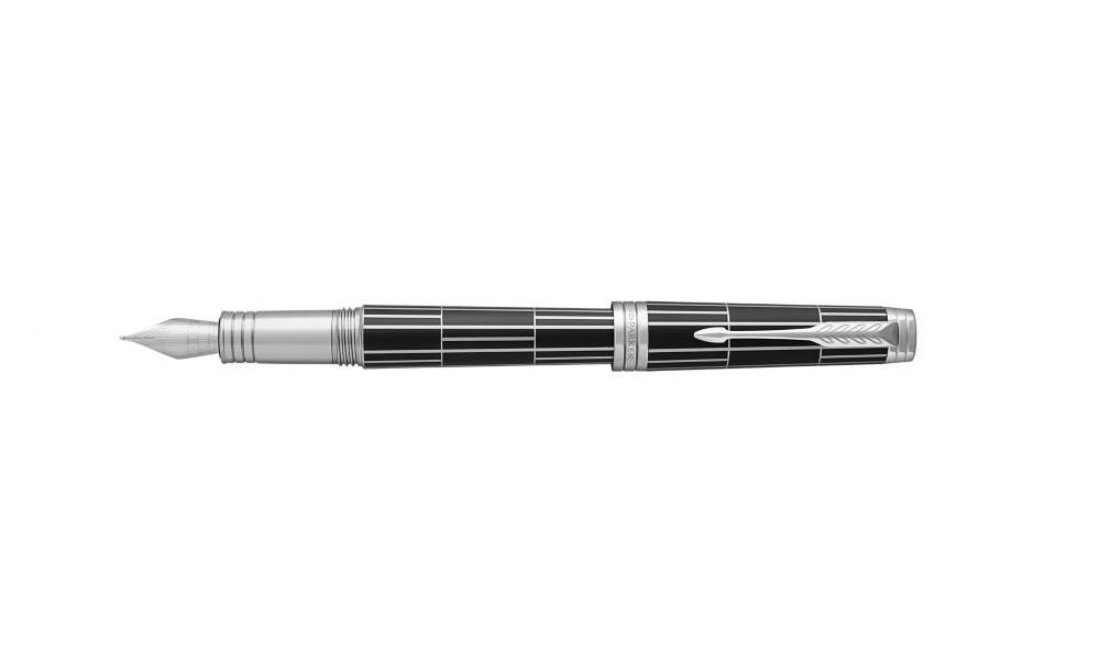 Pióro Wieczne (F) Parker Premier Luxury Black Ct