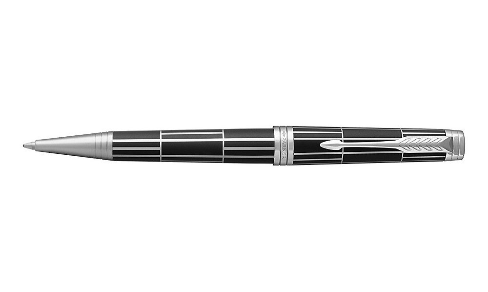 DŁUGOPIS PARKER PREMIER LUXURY BLACK CT