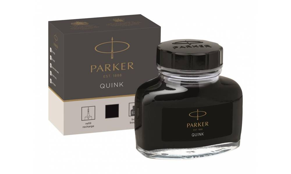 ATRAMENT DO PIÓR PARKER QUINK CZARNY 57ML 1950375